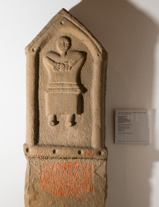 Figure 1. Tombstone dedicated to Ertola aged 4 (English Heritage, 2016)