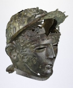 Image of the Ribchester Helmet discovered in 1796 (British Museum, 2018)